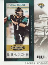 Buy 2013 Contenders #52 Chad Henne