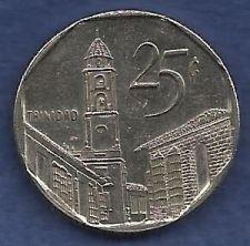 Buy CUBA 25 Centavos 1998 Trinnidad