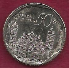 Buy CUBA 50 Centavos 2002 Cathedral de la Habana