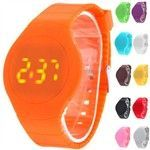 Buy Touch Screen Creative LED Watch Wristwatch Timepiece with Rubber Band