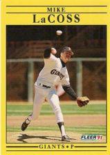 Buy 1991 Fleer #264 Mike LaCoss