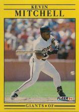 Buy 1991 Fleer #267 Kevin Mitchell