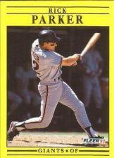 Buy 1991 Fleer #269 Rick Parker