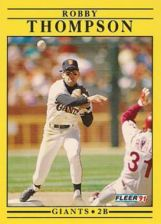 Buy 1991 Fleer #273 Robby Thompson
