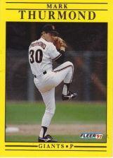 Buy 1991 Fleer #274 Mark Thurmond