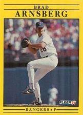 Buy 1991 Fleer #279 Brad Arnsberg