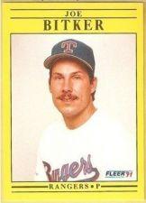 Buy 1991 Fleer #281 Joe Bitker