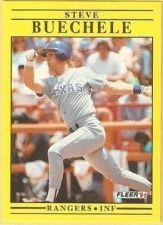 Buy 1991 Fleer #283 Steve Buechele