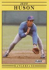 Buy 1991 Fleer #289 Jeff Huson