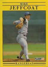 Buy 1991 Fleer #291 Mike Jeffcoat