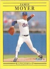 Buy 1991 Fleer #294 Jamie Moyer