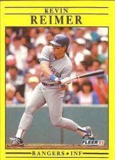 Buy 1991 Fleer #298 Kevin Reimer RC