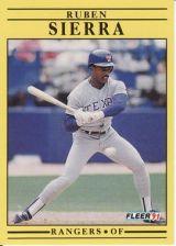 Buy 1991 Fleer #303 Ruben Sierra