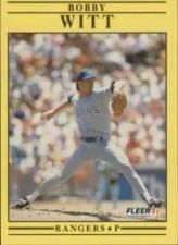 Buy 1991 Fleer #304 Bobby Witt