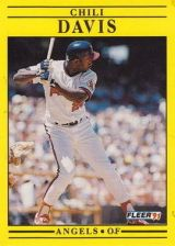 Buy 1991 Fleer #309 Chili Davis