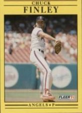 Buy 1991 Fleer #313 Chuck Finley