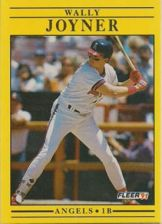 Buy 1991 Fleer #317 Wally Joyner