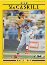 Buy 1991 Fleer #319 Kirk McCaskill