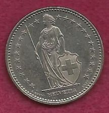Buy SWITZERLAND 1 FRANC 1998 COIN - Standing Helvetia with Lance and Shield