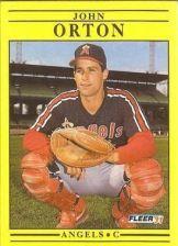 Buy 1991 Fleer #320 John Orton