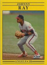 Buy 1991 Fleer #323 Johnny Ray