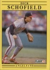 Buy 1991 Fleer #325 Dick Schofield