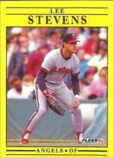 Buy 1991 Fleer #327 Lee Stevens