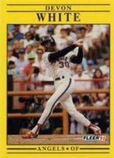 Buy 1991 Fleer #328 Devon White