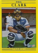 Buy 1991 Fleer #332 Phil Clark
