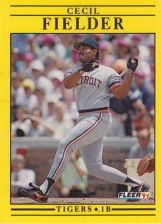Buy 1991 Fleer #335 Cecil Fielder