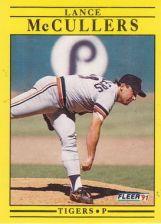 Buy 1991 Fleer #342 Lance McCullers