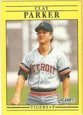 Buy 1991 Fleer #346 Clay Parker