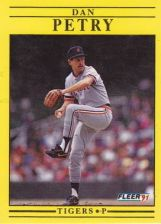 Buy 1991 Fleer #347 Dan Petry