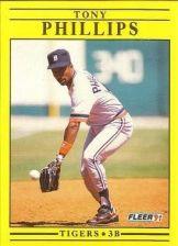Buy 1991 Fleer #348 Tony Phillips
