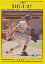 Buy 1991 Fleer #353 John Shelby