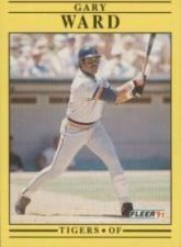 Buy 1991 Fleer #356 Gary Ward