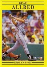 Buy 1991 Fleer #358 Beau Allred