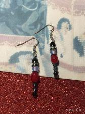 Buy Christmas Girls Nutcracler Hand Beaded Earrings