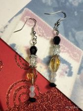 Buy Christmas Unique Soldier Nutcracler Hand Beaded Earrings