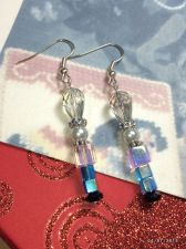 Buy Christmas Diva Pink Nutcracler Hand Beaded Earrings