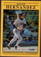 Buy 1991 Fleer #368 Keith Hernandez