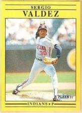 Buy 1991 Fleer #380 Sergio Valdez