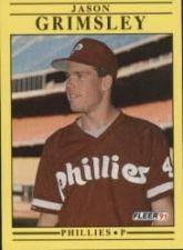 Buy 1991 Fleer #396 Jason Grimsley