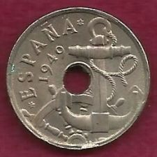 Buy Spain-50-Centimos-w-Hole-1949-Francisco Franco Coin - WWII Era