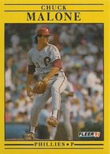 Buy 1991 Fleer #404 Chuck Malone