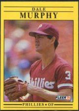 Buy 1991 Fleer #409 Dale Murphy
