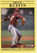 Buy 1991 Fleer #411 Bruce Ruffin