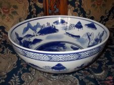 Buy Superb Antique Large Blue and White Chinese Porcelain Bowl