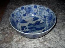 Buy Amazing Antique Large Blue and White Chinese Porcelain Bowl