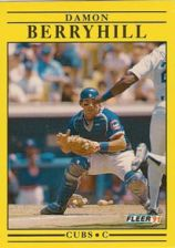 Buy 1991 Fleer #414 Damon Berryhill